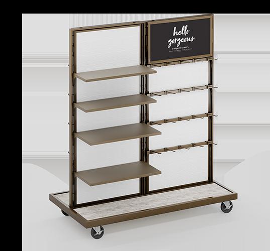 Muebles para tiendas gondolas rack