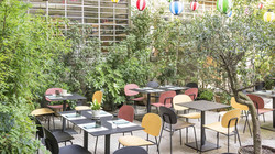tondina interior restaurante superficie