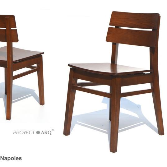 sillas proyectarq para restaurantes napo