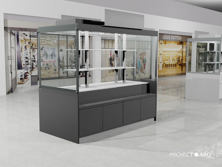 ¿Cuánto cuesta instalar un kiosco en una plaza comercial?