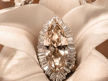 El diamante espectacular de 14.09 quilates