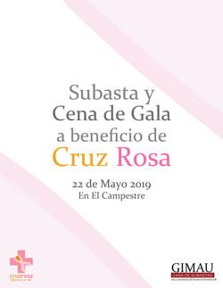 Subasta a beneficio Cruz Rosa