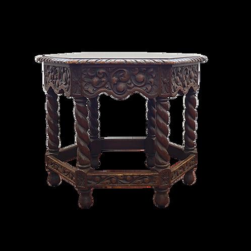 Mesa ocasional estilo barroco español