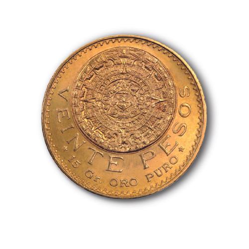 Veinte pesos azteca