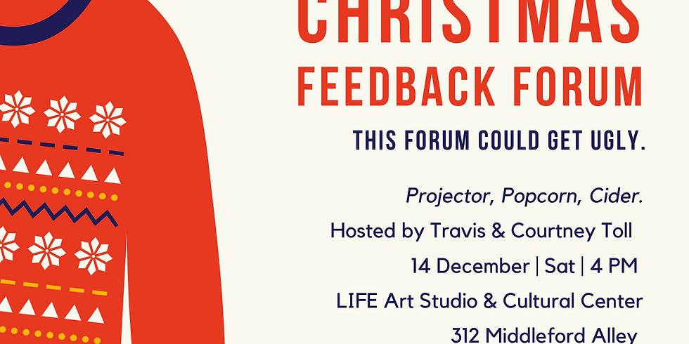 Christmas Feedback Forum