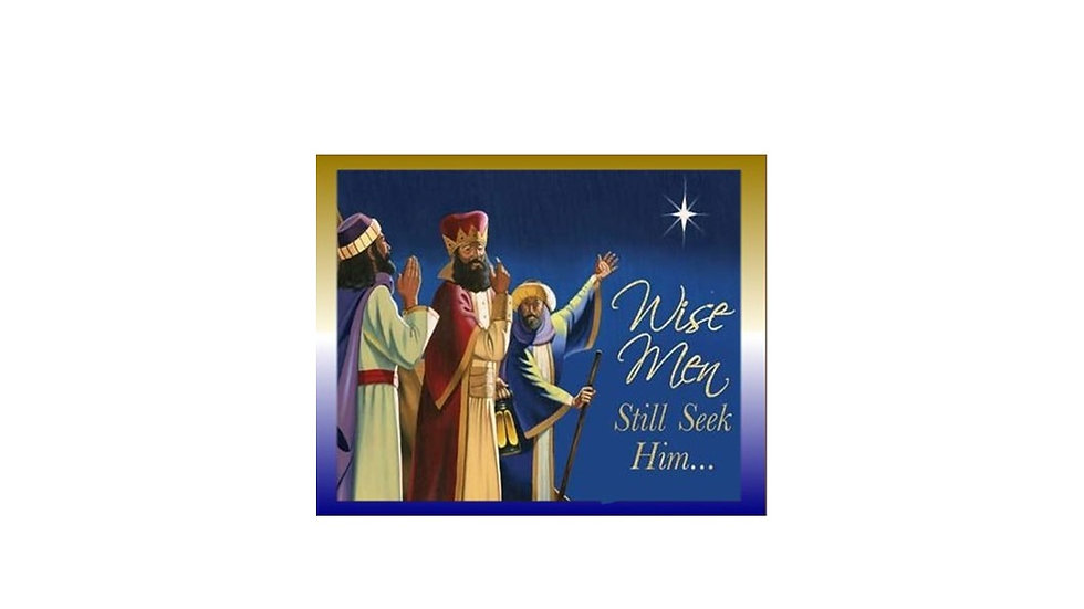 Wise Men Christmas Card
