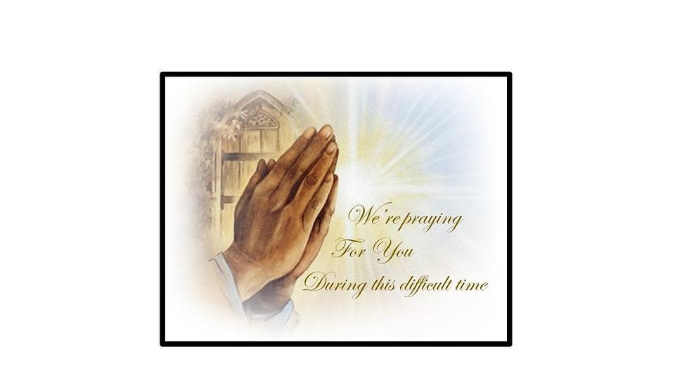 Sympathy Prayers