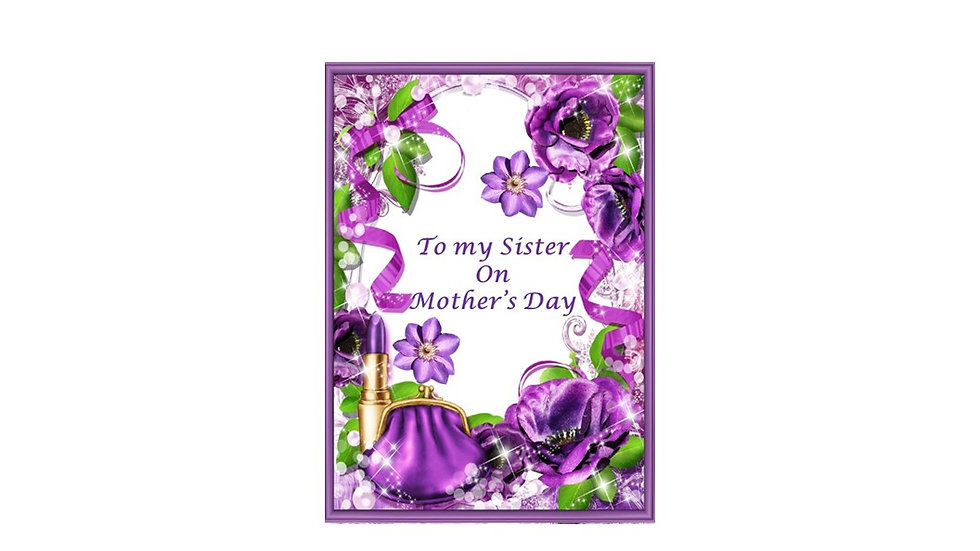 A Sister's Laughter Mothers Day Card