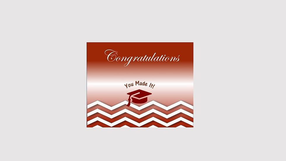Congrats Graduation You made it