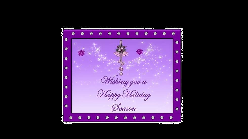 Purple Diamond Christmas