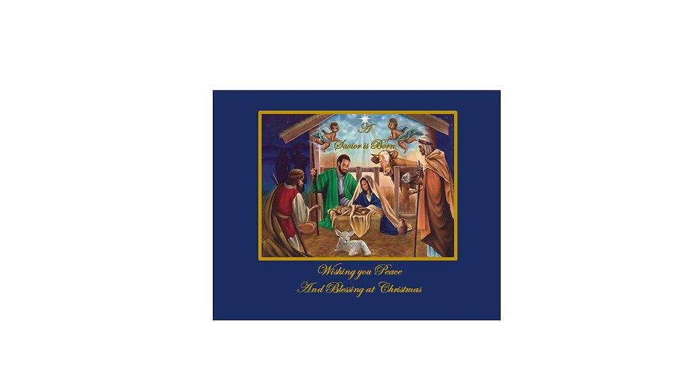 Nativity Scene African American