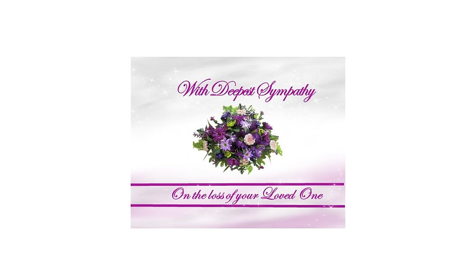 Floral Deepest Sympathy