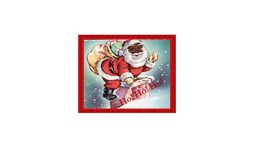Ho!Ho!Ho! Santa Christmas Card