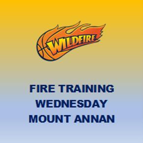 Training - Fire - Mt Annan (Wednesdays)