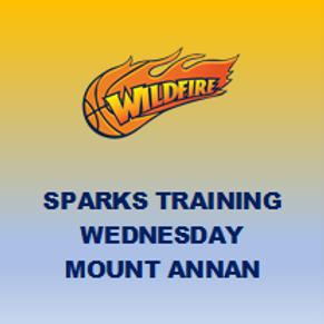 Training - Sparks - Mt Annan (Wednesdays)