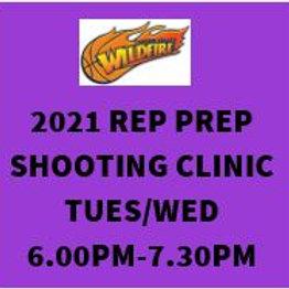 2021 Rep Prep Shooting Clinic Tuesday + Wednesday