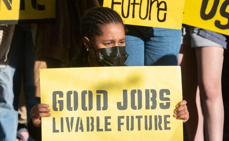 Good Jobs Livable Future Demo