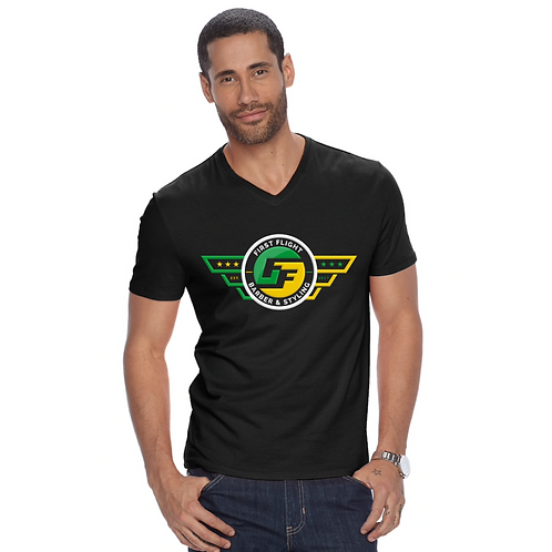 FFB Men V-Neck T-Shirt