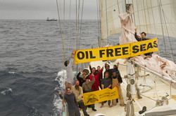 Offshore drilling protest NZ