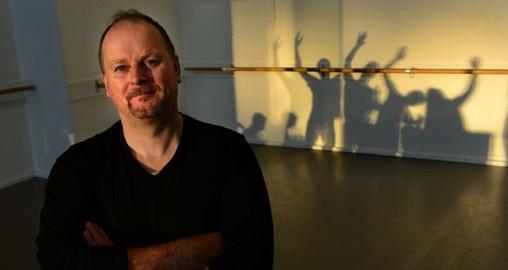Ken McGuire Interviews John Scott of KCLR FM Photo Credit: Dara