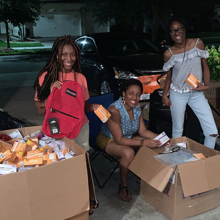 Haiti Packing Party