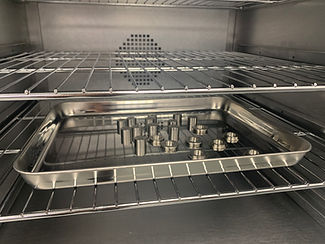 Electrical Feedthroughs in Oven