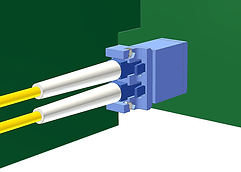Backplane LC Connector