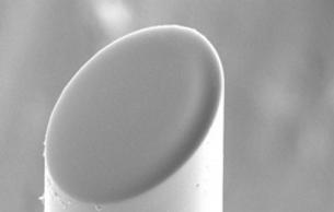 Lensed fiber optic assembly