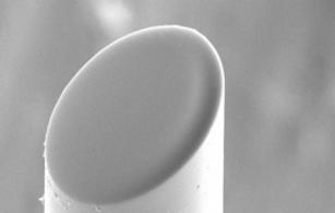 Lensed fiber assembly