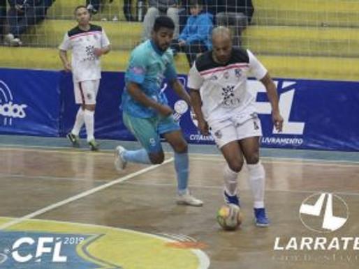 RC Livramento estreia com vitória no Citadino de Futsal 2019