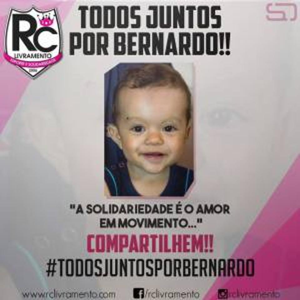 TODOS JUNTOS POR BERNARDO - BAGÉ RS