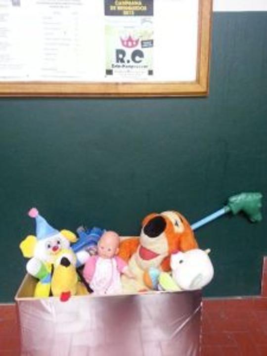 Hotel Jandaia e Campanha de Brinquedos do RC