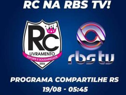 Programa Compartilhe RS da RBS TV contará um pouco sobre a história e os projetos solidários do RC L