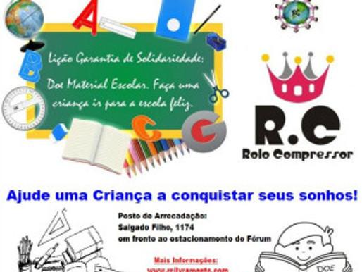 1ª Campanha de Arrecadação de Materiais Escolares do RC Livramento