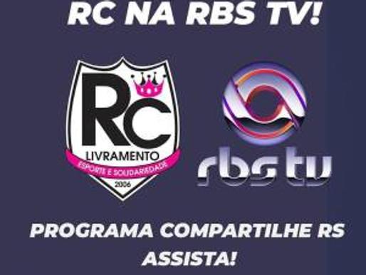 RC Livramento tem sua história contada pelo programa Compartilhe RS da RBS TV