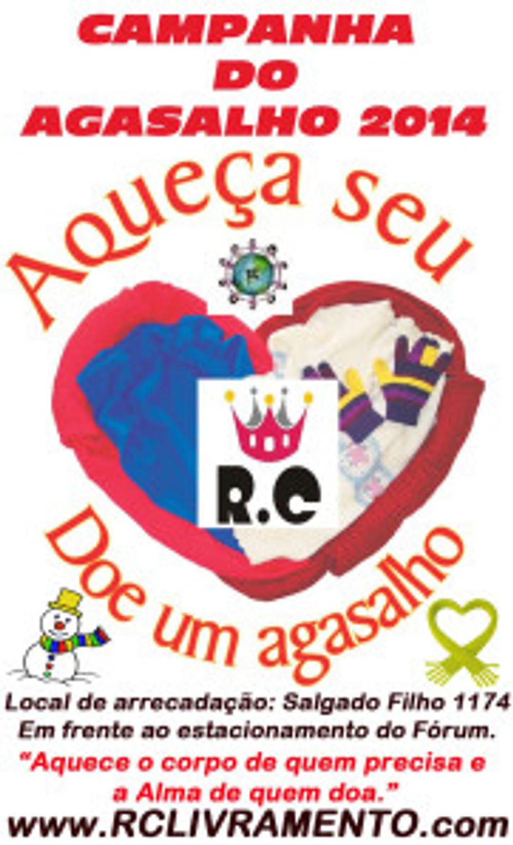 Campanha do Agasalho 2014 do RC Livramento