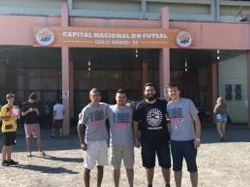 Integrantes do RC Livramento marcam presença na Libertadores de Futsal 2018