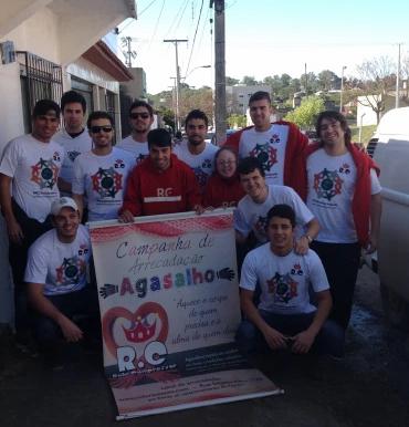 RC Livramento encerra com êxito a Campanha de Agasalhos 2014