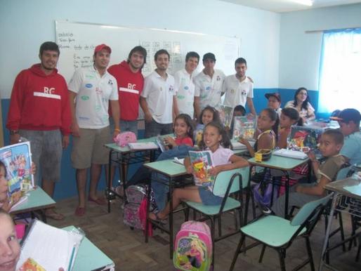 RC Livramento encerra com Chave de Ouro a 1ª Campanha de Materiais Escolares