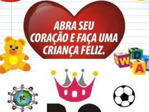 RBS TV e Jornal A Platéia apoiam a 3ª Campanha Solidária de Brinquedos do RC Livramento