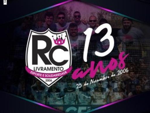 RC Livramento completa 13 anos de existência