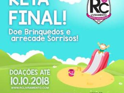 Campanha de Brinquedos do RC Livramento entra na reta final