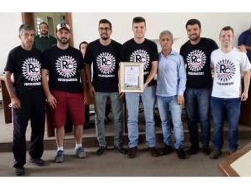 RC Livramento recebe homenagem do Poder Legislativo Municipal