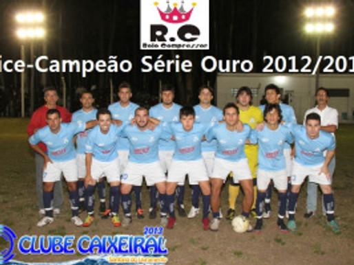 RC Livramento é Vice-Campeão da Série Ouro 2012/2013 do Caixeiral