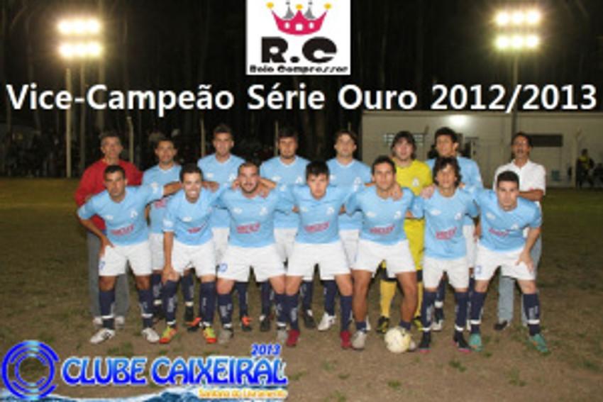 RC Livramento Vice-Campeão Série Ouro 2012 2013