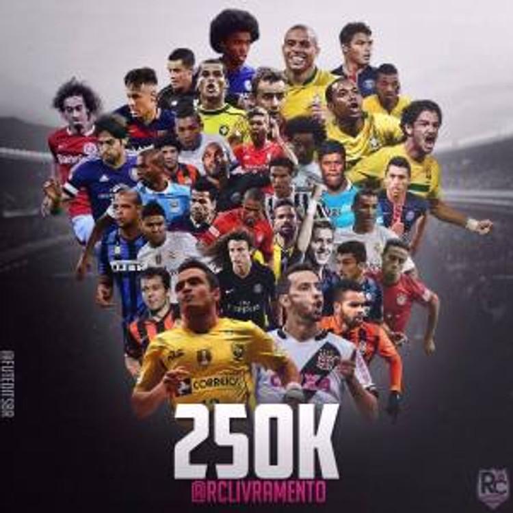 250k, 250 mil seguidores, instagram, RC Livramento