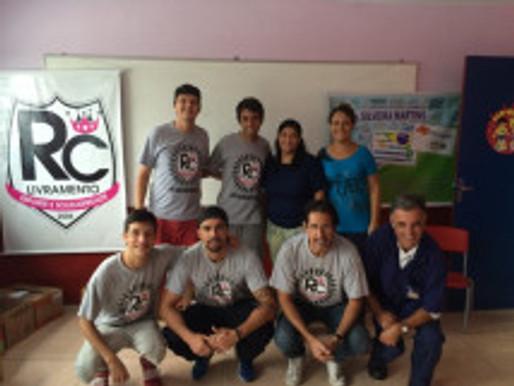 RC Livramento entrega mais de 300 kits escolares e alegra a criançada