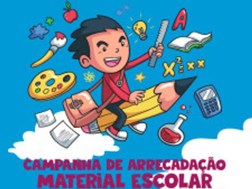 Campanha de Materiais Escolares do RC Livramento se encerra no próximo sábado, dia 03/03