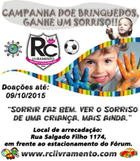 Campanha de Brinquedos 2015 - RC Livramento