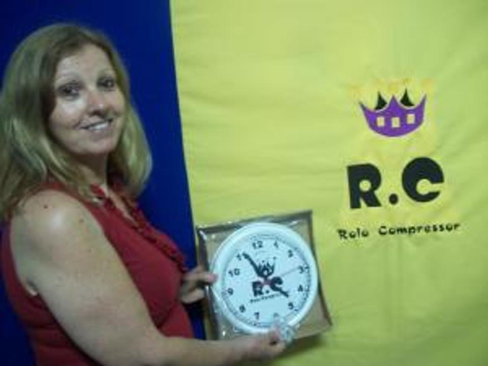 Tania foi a vencedora do 1º Sorteio em Homenagem aos 06 anos do RC